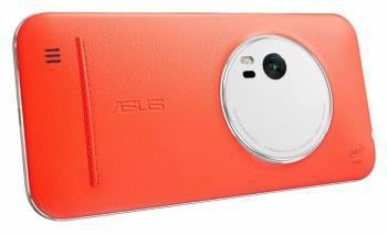 Чехол Asus Leather Case, для Asus ZenFone Zoom ZX551ML, оранжевый (90AC0100-BBC005)