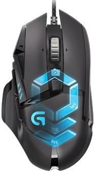 Мышь Logitech G502 RGB черный (910-004617)