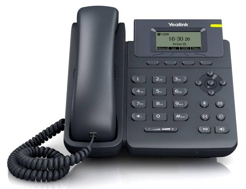 Телефон SIP Yealink SIP-T19 E2 серый - фото 1