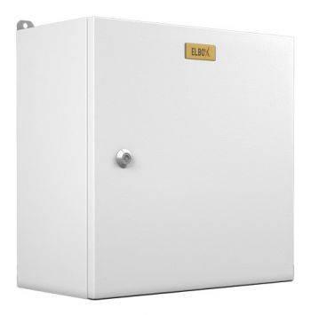 Шкаф электротехнический Elbox EMW-300.200.150-1-IP66 настенный 200мм 150мм несъемн.бок.пан. 50кг серый