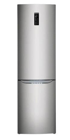 Холодильник LG GA-B489SMQZ серебристый - фото 1