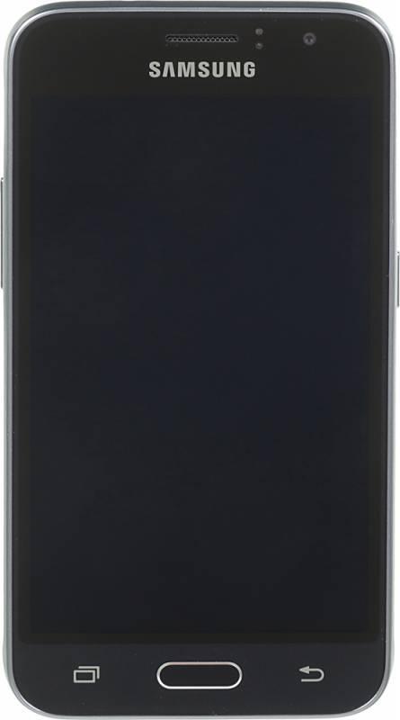 Смартфон Samsung Galaxy J1 (2016) SM-J120F 8ГБ черный (SM-J120FZKDSER) - фото 1
