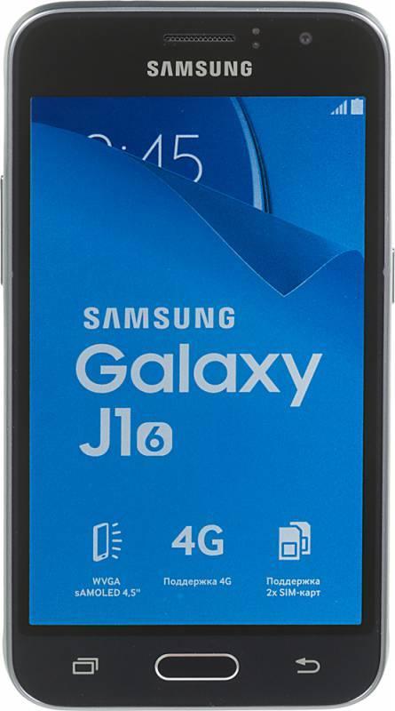 Смартфон Samsung Galaxy J1 (2016) SM-J120F 8ГБ черный (SM-J120FZKDSER) - фото 3