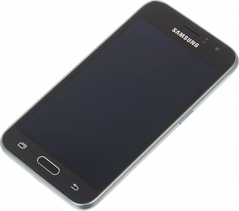 Смартфон Samsung Galaxy J1 (2016) SM-J120F 8ГБ черный (SM-J120FZKDSER) - фото 4