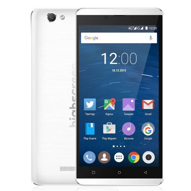 Смартфон HighScreen Bay 16ГБ белый - фото 1
