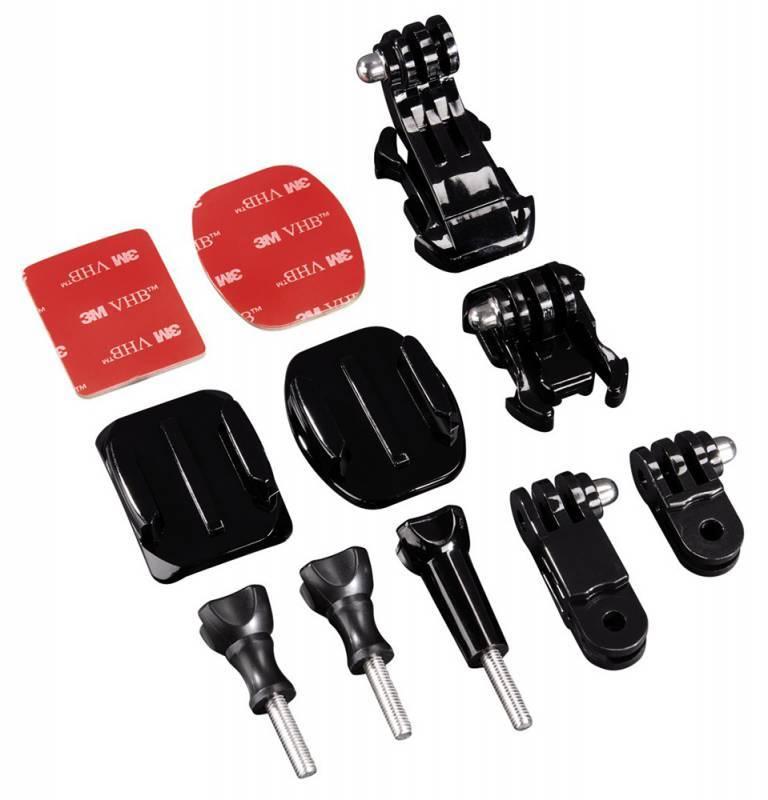 Набор для экшн-камер Hama H-4397 черный (00004397) - фото 1
