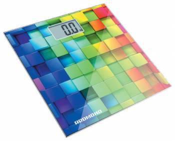 Весы напольные электронные Redmond RS-708 белый/кубики (RS-708 (КУБИКИ))