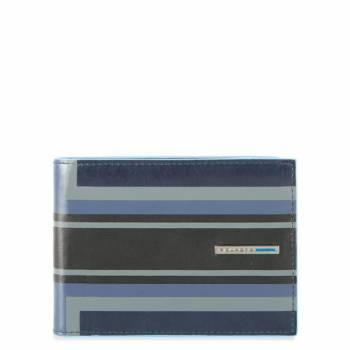 Кошелек мужской Piquadro Blue Square PU257B2SER / BLU синий натур.кожа
