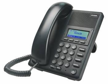 Телефон IP D-Link DPH-120SE / F1A черный
