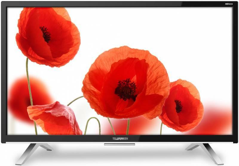 """Телевизор LED 27.5"""" Telefunken TF-LED28S16T2 черный - фото 1"""