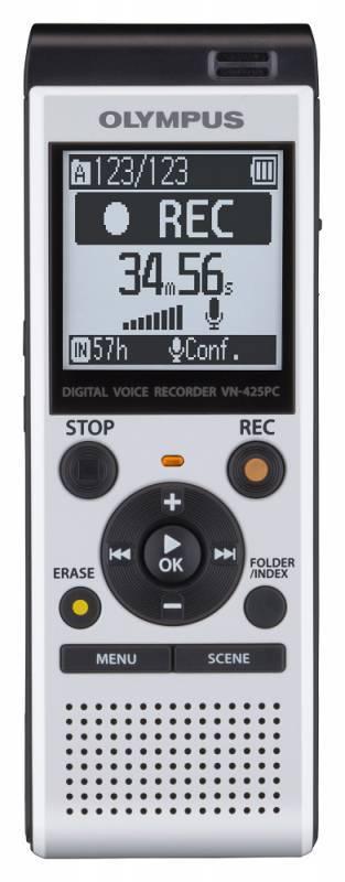 Диктофон 4Gb Olympus VN-425PC белый - фото 1