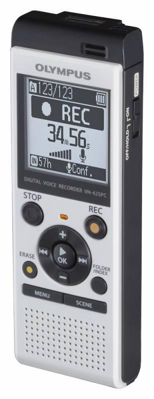 Диктофон 4Gb Olympus VN-425PC белый - фото 2