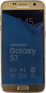 Смартфон Samsung SM-G930FD Galaxy S7 золотистый, встроенная память 32Gb, дисплей 5.1 2560x1440, Android 6.0, камера 12Mpix, поддержка 3G, 4G, 2Sim, WiFi, BT, GPS, microSD до 200Gb (SM-G930FZDUSER)