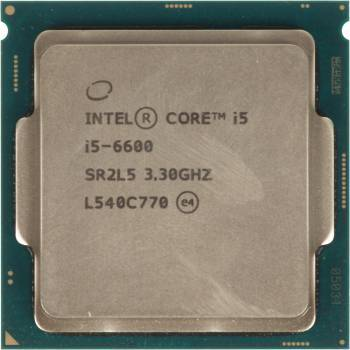 Процессор Intel Core i5 6600 Socket-1151 OEM (CM8066201920401S R2L5)