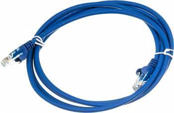 Кабель Патч-корд Lanmaster UTP LAN-PC45/U5E-2.0-BL вилка RJ-45-вилка RJ-45 кат.5е 2м синий