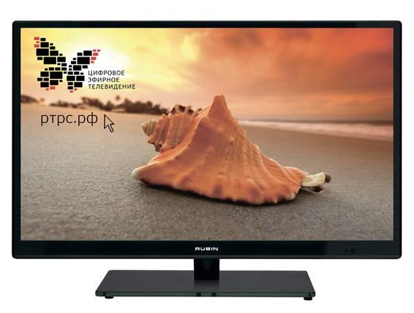 """Телевизор LED 22"""" Rubin RB-22SE2FT2S черный - фото 1"""