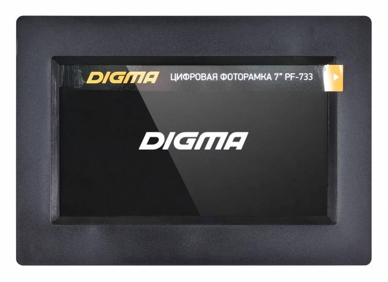 """Цифровая фоторамка 7"""" Digma PF-733 черный - фото 6"""