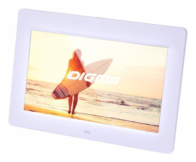 """Цифровая фоторамка 10.1"""" Digma PF-1033 белый (PF1033W) - фото 3"""