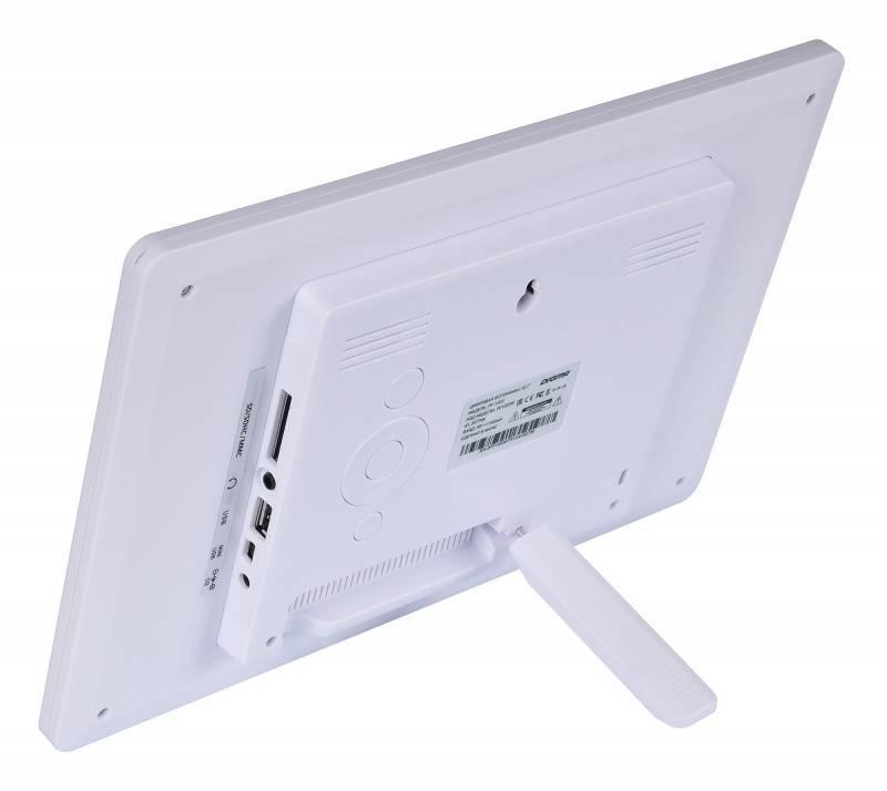 """Цифровая фоторамка 10.1"""" Digma PF-1033 белый (PF1033W) - фото 5"""