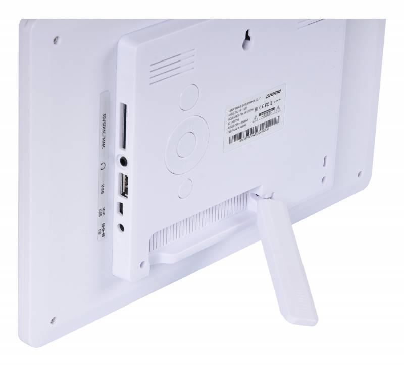 """Цифровая фоторамка 10.1"""" Digma PF-1033 белый (PF1033W) - фото 8"""