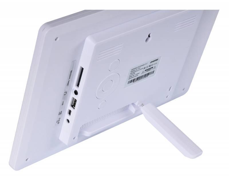 """Цифровая фоторамка 10.1"""" Digma PF-1033 белый (PF1033W) - фото 9"""