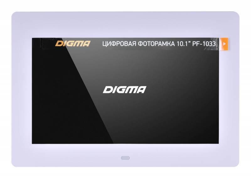 """Цифровая фоторамка 10.1"""" Digma PF-1033 белый (PF1033W) - фото 10"""