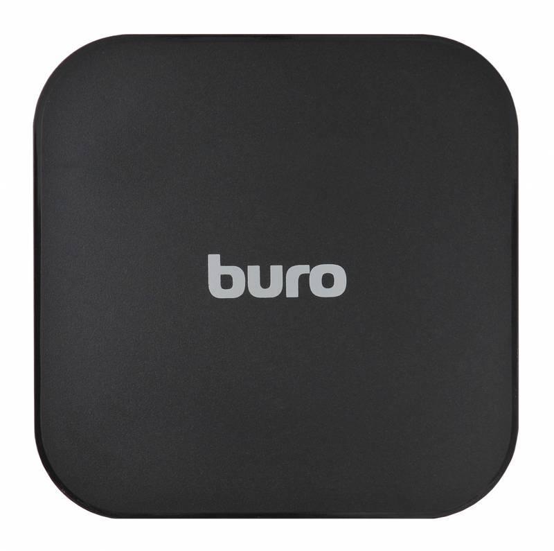 Беспроводное зар./устр. Buro Q8 черный - фото 2