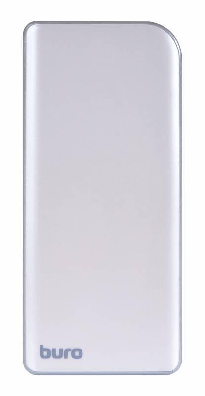 Мобильный аккумулятор BURO RA-8000 серебристый - фото 2