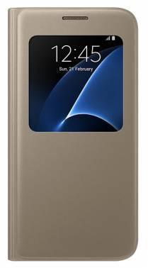 Чехол (флип-кейс) Samsung S View Cover золотистый