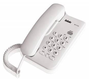 Телефон BBK BKT-74 RU белый (BKT-74 RU W)