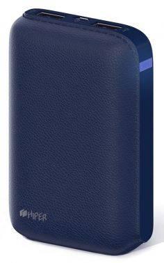 Мобильный аккумулятор HIPER SP7500 синий (SP7500 DARK BLUE)