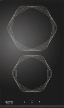 Варочная поверхность Gorenje Infinity IT332INI черный, независимая установка, материал поверхности стеклокерамика, индукционных конфорок 2