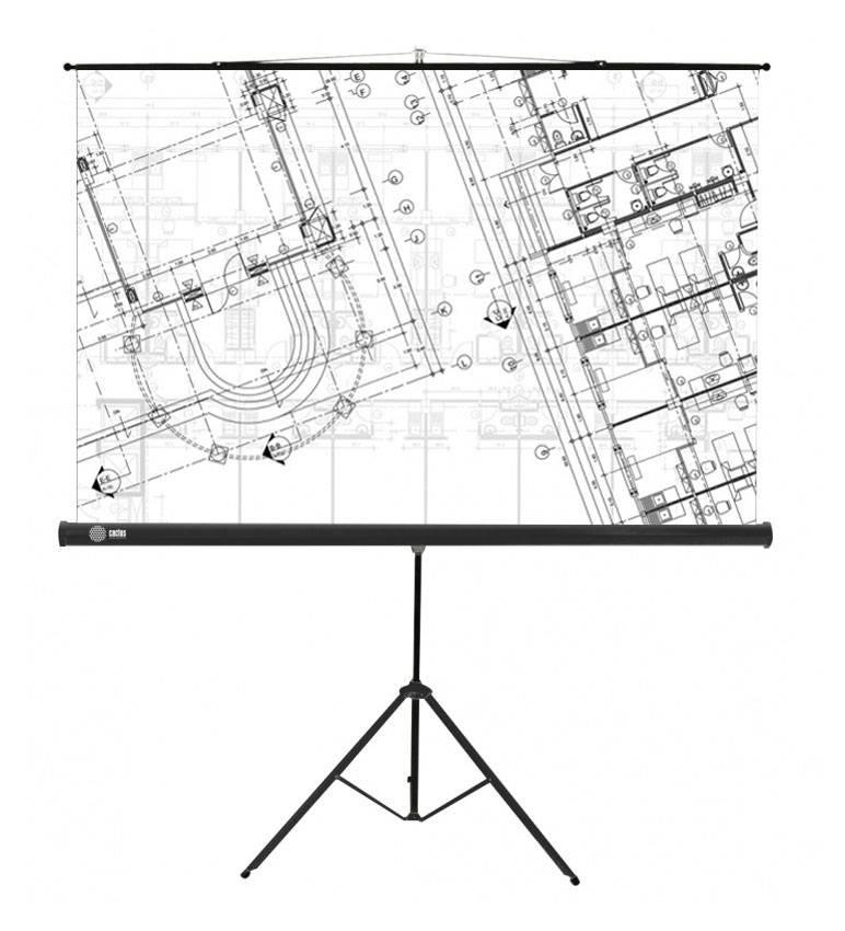 Экран Cactus Triscreen CS-PST-127X127 - фото 1