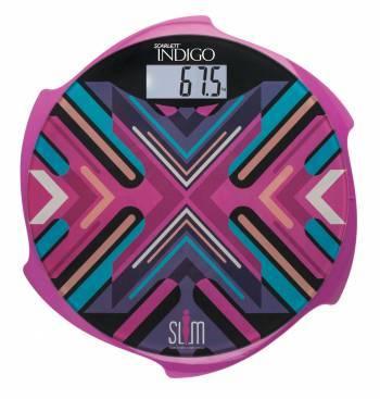 Весы напольные электронные Scarlett IS-BS35E601 пурпурный (IS - BS35E601)