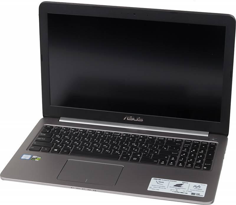 "Ноутбук 15.6"" Asus K501UX-FI081T серый - фото 1"