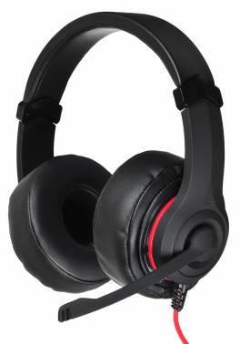 Наушники с микрофоном Oklick HS-L330G NIGHTMARE черный