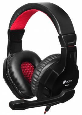 Наушники с микрофоном Oklick HS-L320G Phoenix черный (NO-3000)