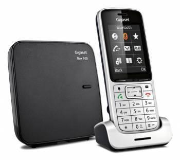 Телефон Gigaset Gigaset SL450 SYS серебристый/черный (SL450)