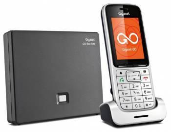 Телефон IP Gigaset SL450A GO серебристый
