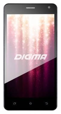 Смартфон Digma Linx A500 3G графит, встроенная память 8Gb, дисплей 5 1280x720, Android 5.1, камера 5Mpix, поддержка 3G, 2Sim, WiFi, BT, GPS, FM радио, microSDHC (LS5101MG)