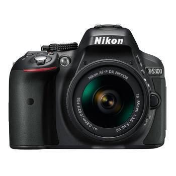Фотоаппарат Nikon D5300 черный, 1 объектив AF-P 18-55mm f/3.5-5.6VR (VBA370K007)
