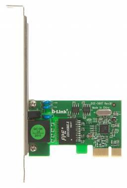 Сетевой адаптер Gigabit Ethernet D-Link DGE-560T / 10 / C1A RJ-45