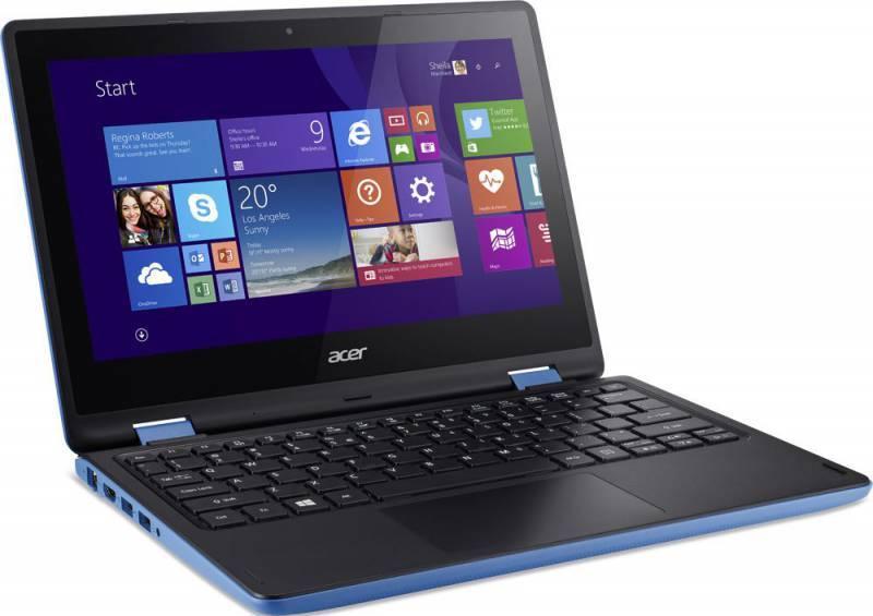 """Трансформер 11.6"""" Acer Aspire R3-131T-C08E голубой - фото 2"""