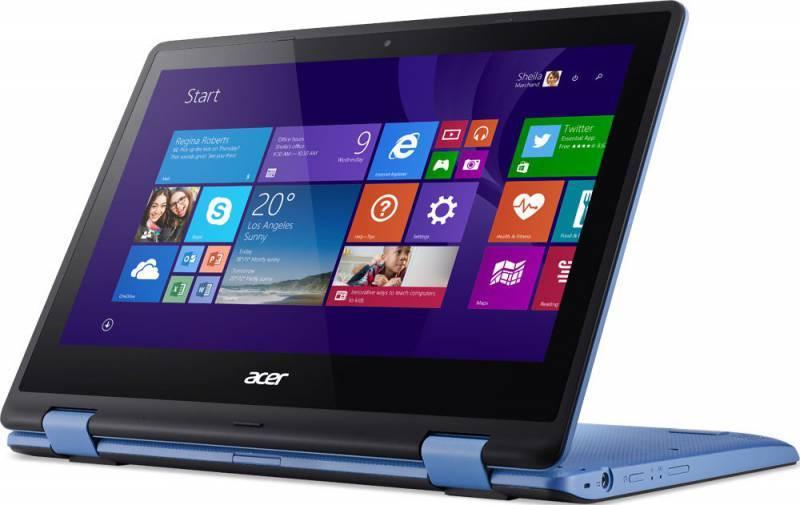 """Трансформер 11.6"""" Acer Aspire R3-131T-C08E голубой - фото 6"""