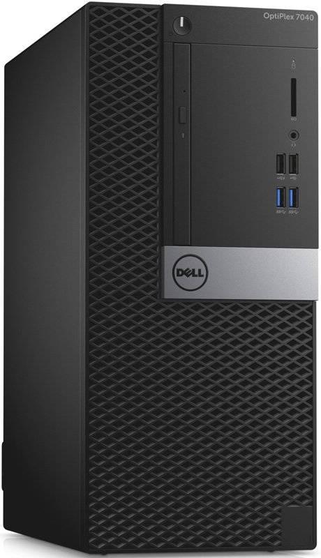 Системный блок Dell Optiplex 7040 черный/серебристый - фото 2