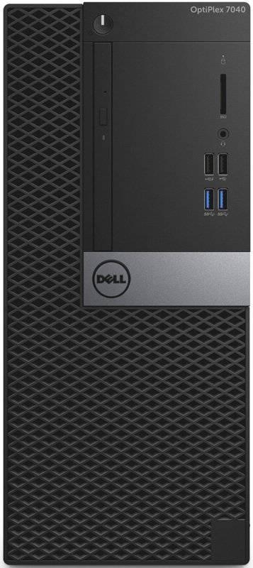 Системный блок Dell Optiplex 7040 черный/серебристый - фото 3
