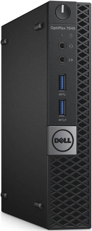 Системный блок Dell Optiplex 7040 черный/серый - фото 1