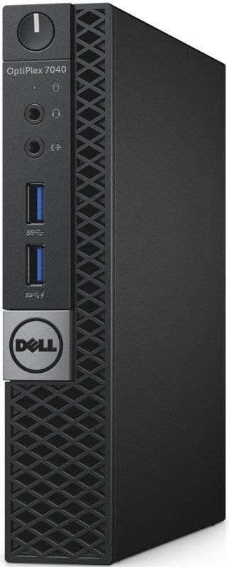 Системный блок Dell Optiplex 7040 черный/серый - фото 2