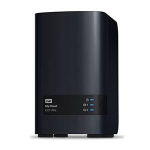 Сетевое хранилище NAS WD 4Tb WDBSHB0040JCH-EEUE темно-серый - фото 2