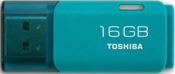 Флеш диск Toshiba Hayabusa U202 16ГБ USB2.0 голубой (THN-U202L0160E4)